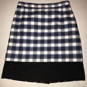 fc14d99c48 No. 21 Skirts | No 21 Plaid And Lace Skirt | Poshmark